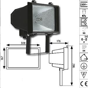Ampoules led spots encastrables luminaires led for Projecteur exterieur 1000w
