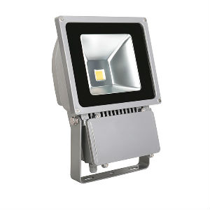 Projecteur LED 100W exterieur IP65 blanc neutre.