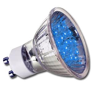 ampoule led gu10 1w 24 bleue paulmann. Black Bedroom Furniture Sets. Home Design Ideas