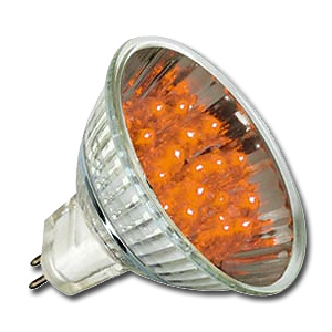 Lampe LED Réflecteur Orange GU5,3 12V 1W PAULMANN.