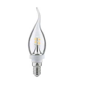 Ampoule Led Flamme Cosylight clair E14 2,2W PAULMANN.