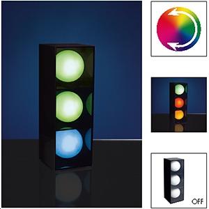 lampe poser 3 boules joy led max 2 2w multicolore 230v. Black Bedroom Furniture Sets. Home Design Ideas