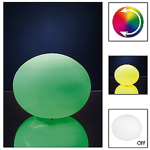 Lampe à poser Ball LED max.2,0W Multicolore 230V