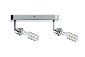 Réglette LED DecoSystems PAULMANN incl 2x3W LED GZ10/GU10 230V