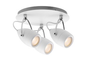 Plafonnier Drop LED Salle de Bain PAULMANN IP44 3X3,5W 230V Chrome