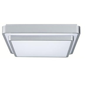 Plafonnier carré Two-Step Wall and Ceiling PAULMANN max 1 x 40 W 2GX13