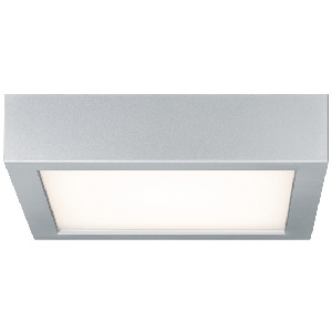 Plafonnier LED carré Space PAULMANN 16.5W Blanc chaud 3000K 300x300 mm