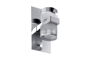 Applique Diadem LED Salle de Bain PAULMANN IP44 2X3.5W 230V Chrome