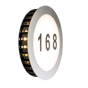 Eclairage num ro de maison ext rieur sun led paulmann ip44 for Eclairage ip44