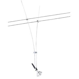 spot sur c ble halog ne comet 50 cm de la s rie wire paulmann. Black Bedroom Furniture Sets. Home Design Ideas