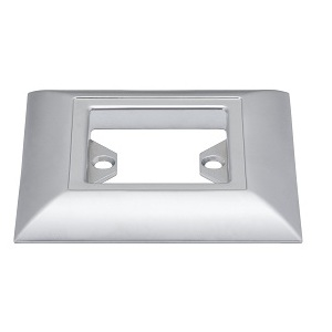 Support Quadro Special  line Up socle plat chrome mate