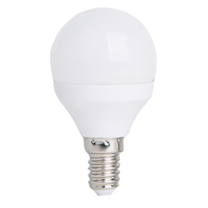Ampoule LED E14 4W rendu 35W Globe 45 mm Blanc Neutre.