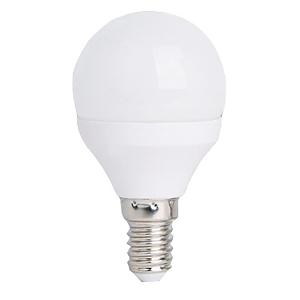 ampoule led e14 4w rendu 35w globe 45 mm blanc chaud. Black Bedroom Furniture Sets. Home Design Ideas