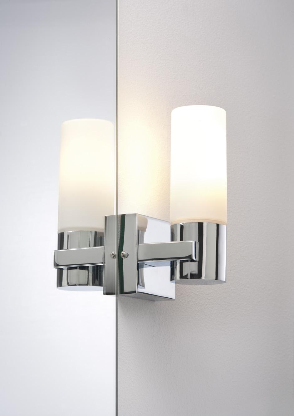 Kit 2 appliques salle de bain paulmann gemini ip44 max 40w - Applique salle de bain ip44 ...