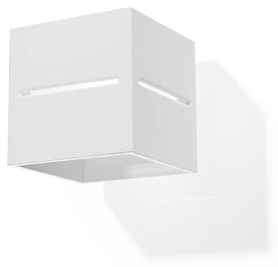 Applique Murale LOBO blanc Sollux Lighting SL0206