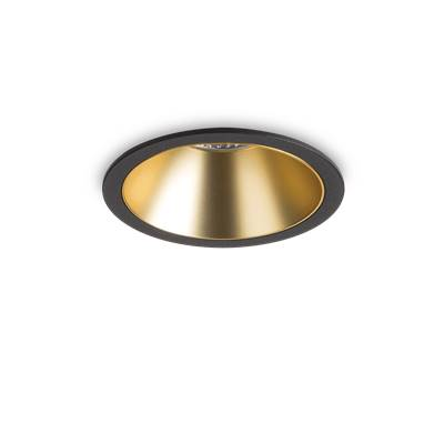 Spot Encastrable GAME Rond BK GD LED intégrée Ideal Lux 192345