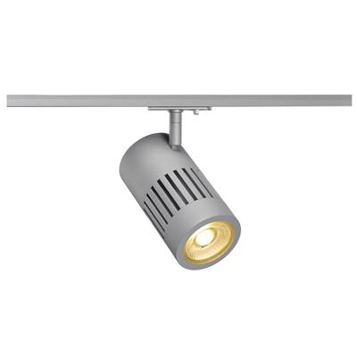 STRUCTEC LED 24W, Gris argent, 3000K, 36°, adapt rail 1 all. inclus SLV