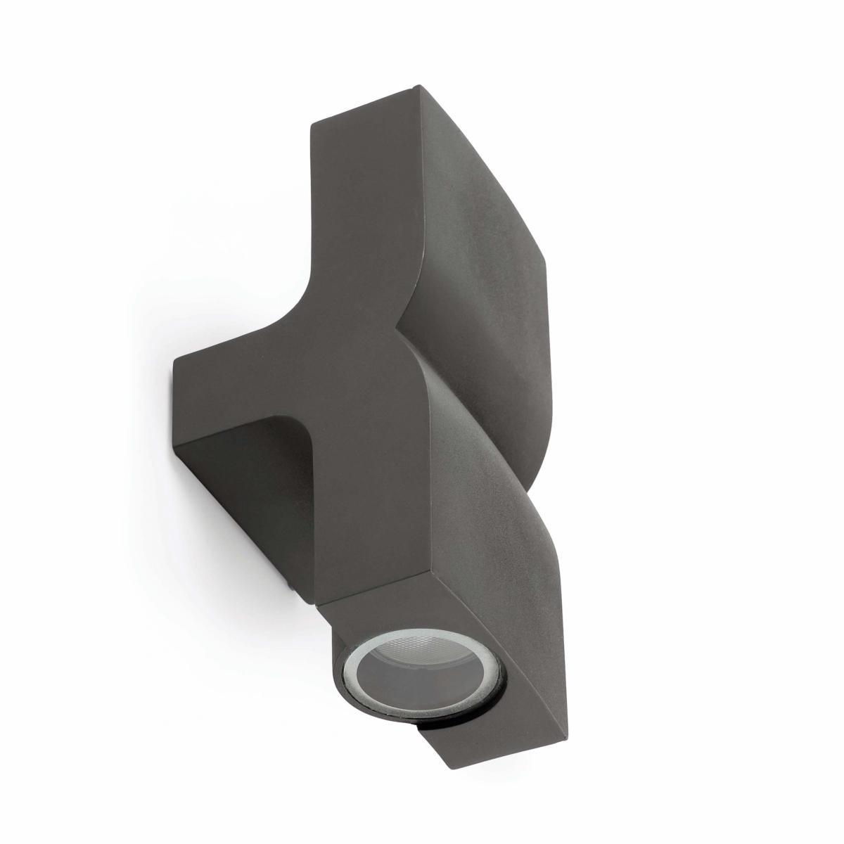 applique murale ext rieure double flux klamp faro ip44 74408. Black Bedroom Furniture Sets. Home Design Ideas