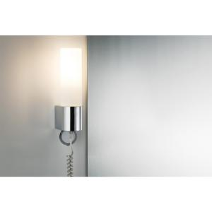 Applique led plafonnier led paulmann for Applique salle de bain avec prise