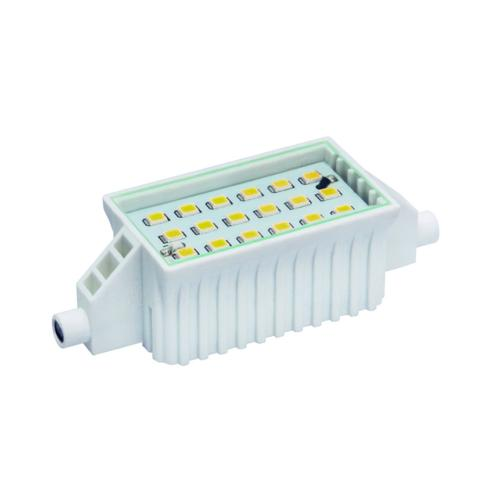 LED R7s 6W 78 mm Blanc Chaud 3000 K 500 lm.