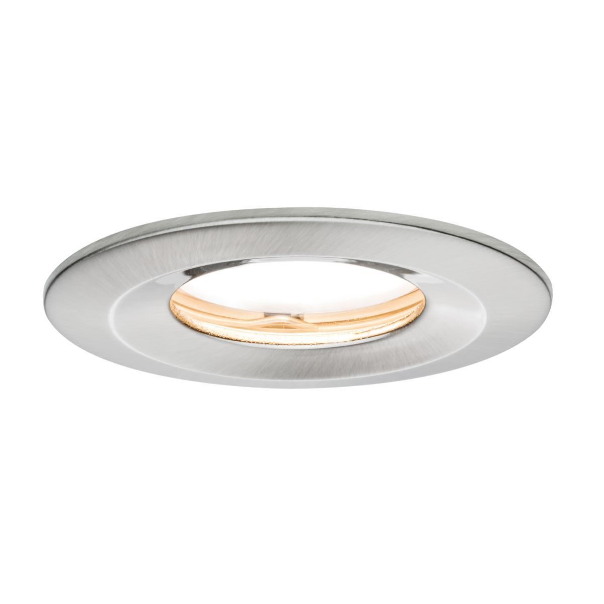spot led ip65 encastrable dimmable slim coin 6 8w 230v paulmann 93882. Black Bedroom Furniture Sets. Home Design Ideas