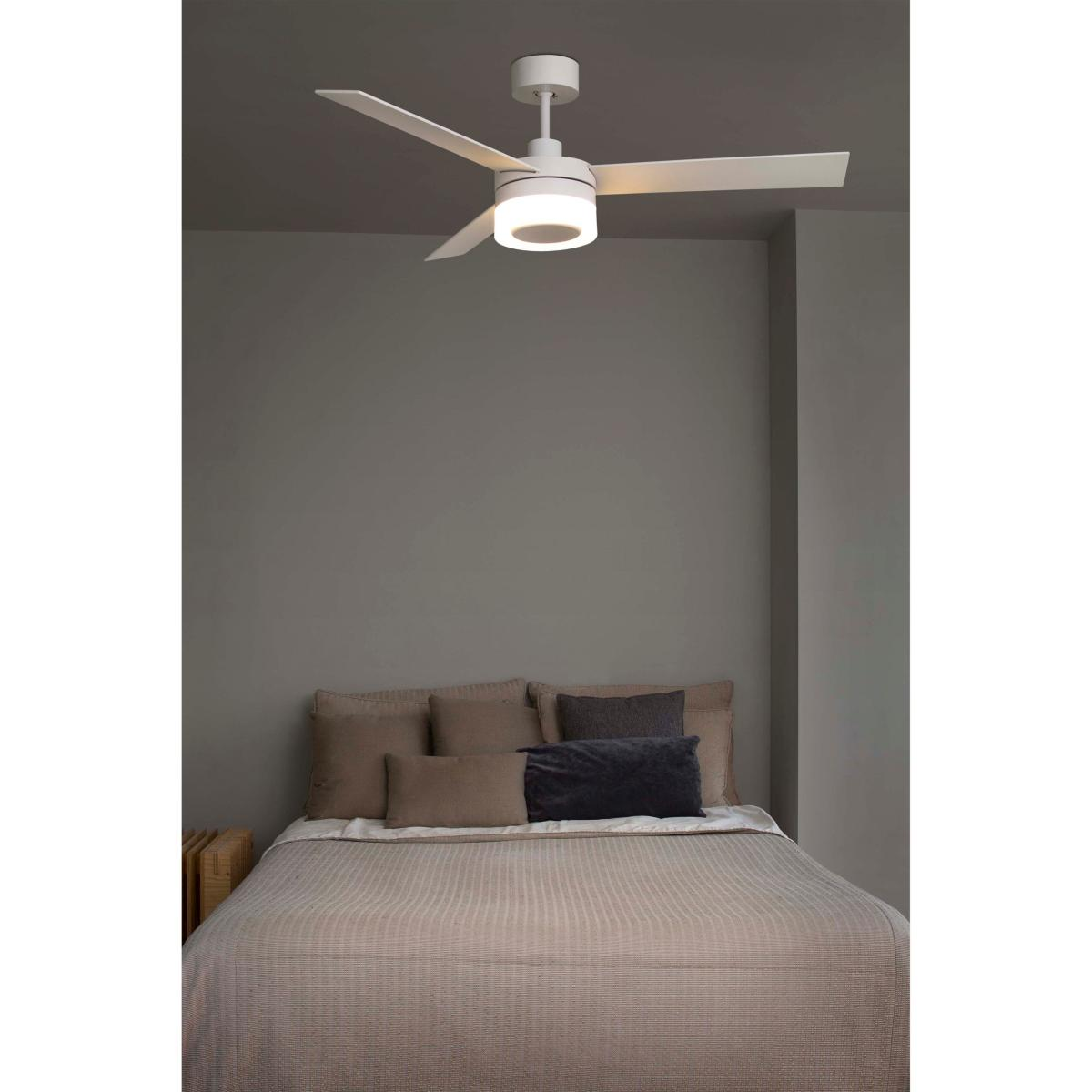 lustre ventilateur de plafond faro ice 33459. Black Bedroom Furniture Sets. Home Design Ideas