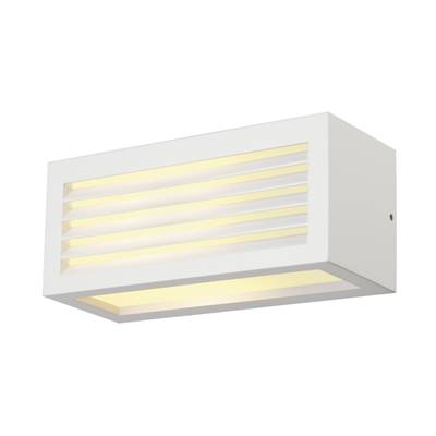 BOX-L E27 applique, carrée, blanc, E27, max. 18W SLV