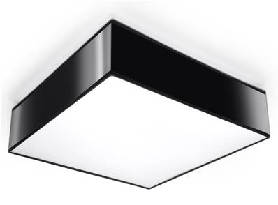 Plafonnier HORUS 35 noir Sollux Lighting SL0136