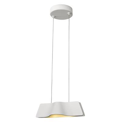 WAVE PENDANT, suspension, blanc, LED 8,6W 3000K avec patère SLV