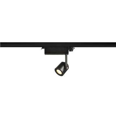 SUPROS 78 LED, rond, noir, 3000K, réflecteur 60°, adapt. 3 all. inclus SLV