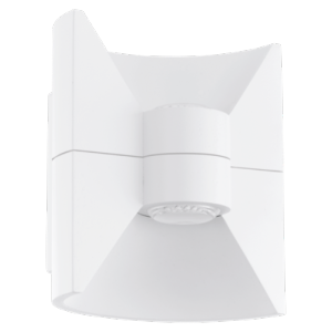 LED-Applique 2-lum a 2,5W, Blanc-structure