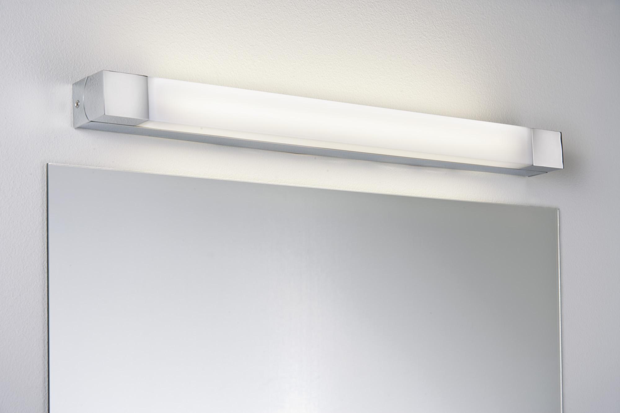 Applique salle de bain paulmann quasar ip44 1x14w 230v g5 for Applique salle de bains