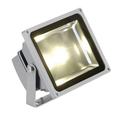 LED OUTDOOR BEAM, gris argent, 30W, 3000K, 100°, IP65 SLV