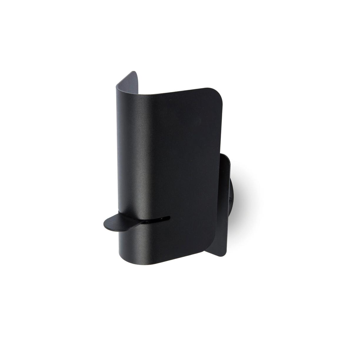 Applique liseuse smile faro led 62131 noir - Applique murale design noire ...