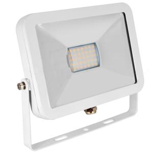 Projecteur LED 10W exterieur SLIM IP65 Blanc chaud.
