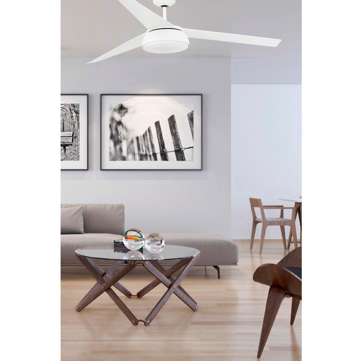 lustre ventilateur de plafond faro vulcano led dimmable 33549. Black Bedroom Furniture Sets. Home Design Ideas