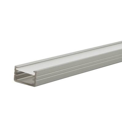 Lot de 10 Profils aluminium 1 mètre - 12 mm de large pour ruban led.