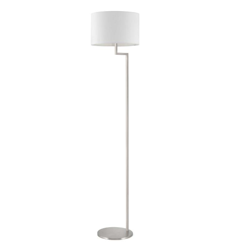 Lampadaire design int rieur creta faro nickel mat for Lampadaire interieur design