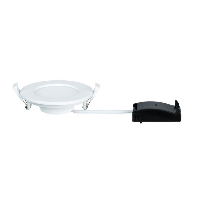 spot led encastrable extra plat 220v blanc 6w blanc neutre. Black Bedroom Furniture Sets. Home Design Ideas