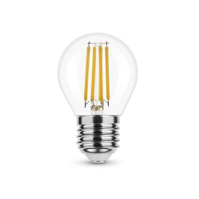 Ampoule LED Filament Globe Mini G45 4W E27 360° 2700K