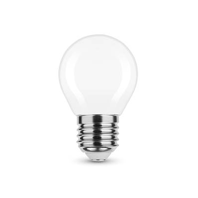 Ampoule LED Filament Milky Globe Mini G45 4W E27 360° 2700K