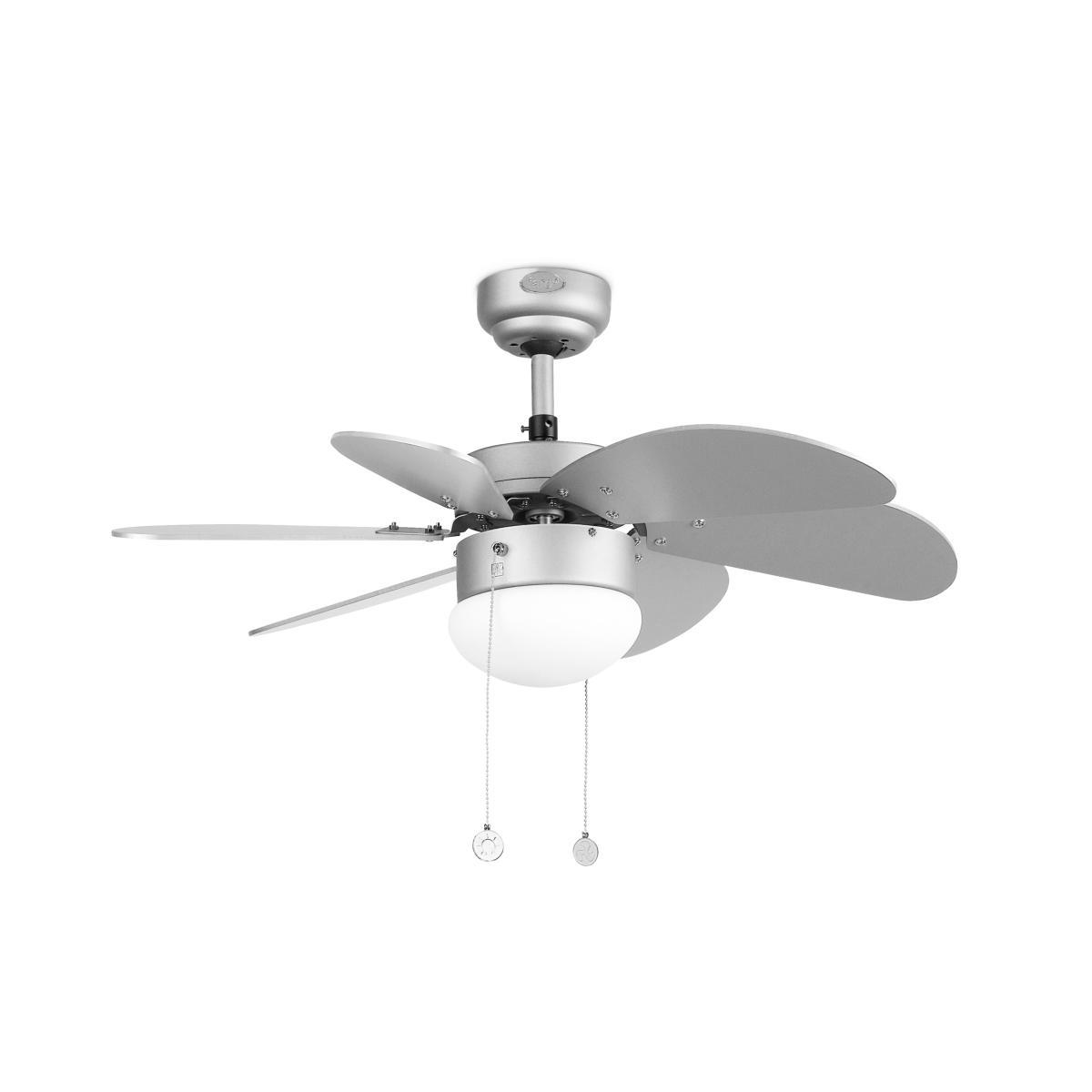 lustre ventilateur de plafond faro palao 33186