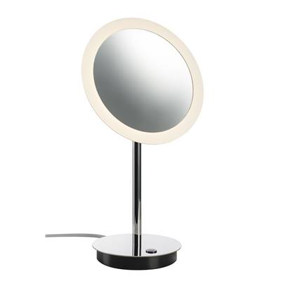 MAGANDA, miroir à poser chrome, LED 4,2W, 3000K, 70lm SLV