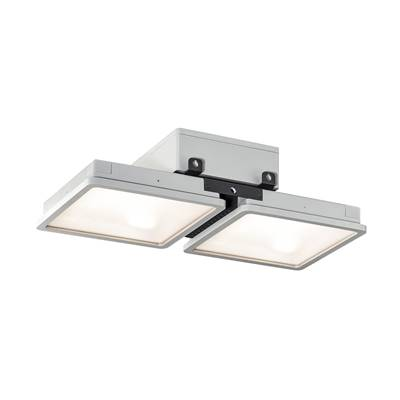 ALMINO double, suspension, gris argent LED 90W 4000K SLV