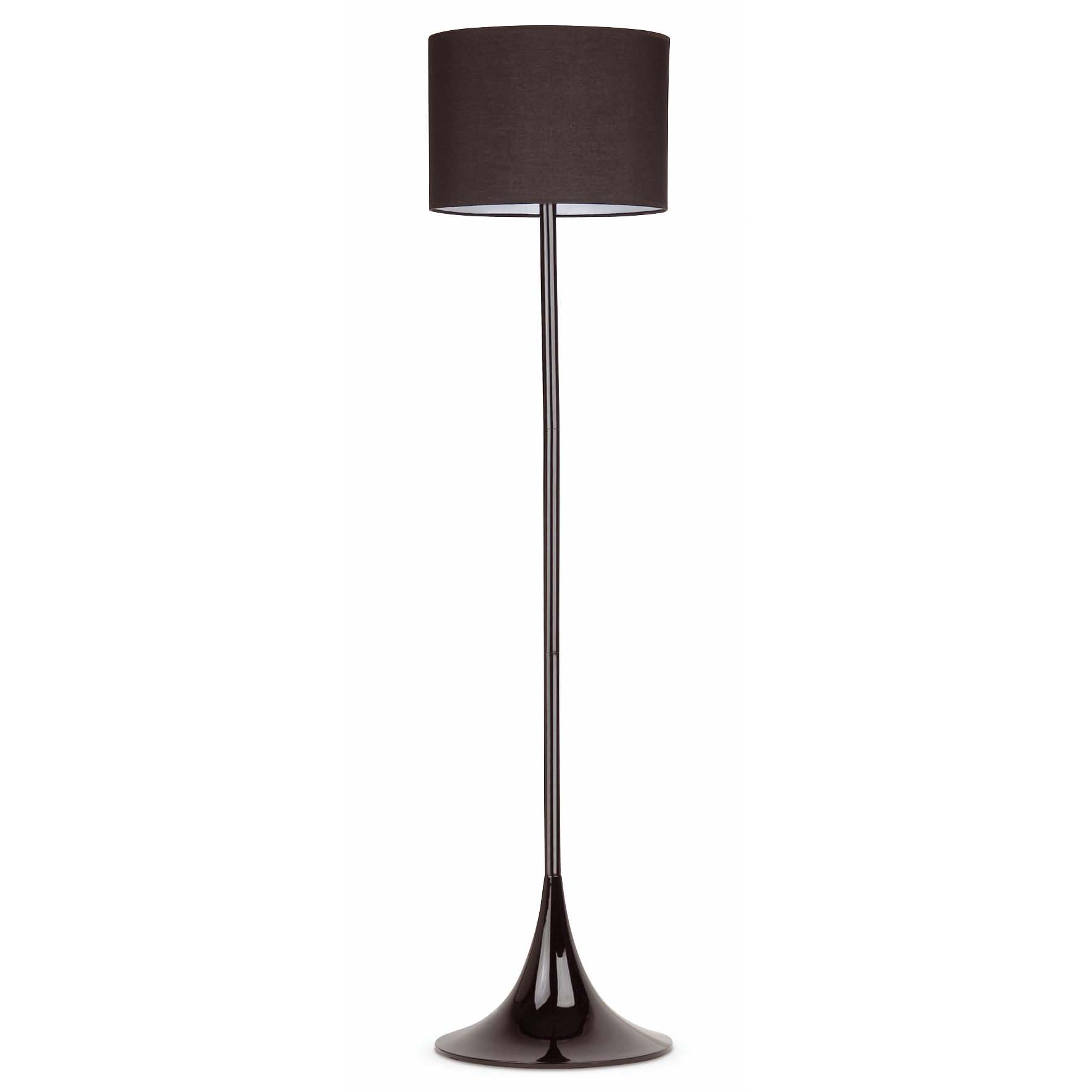 Lampadaire design int rieur black faro noir for Lampadaire interieur design