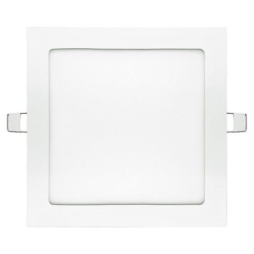 Dalle LED 18W extra-plate Carrée Downlight à encastrer 4000K