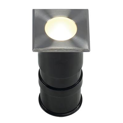 POWER TRAIL-LITE carré, inox 316, 1W LED 3000K, IP67 SLV