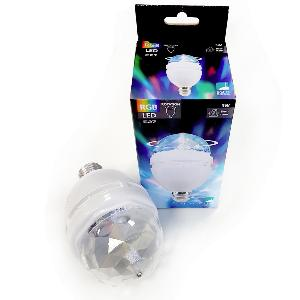 Ampoule led RGB DISCO Rotation 3W E27 EGLO