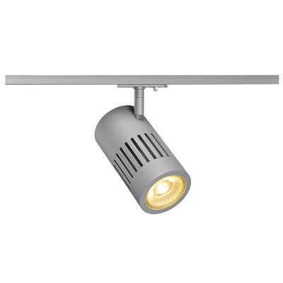 STRUCTEC LED 24W, Gris argent, 3000K, 60°, adapt rail 1 all. inclus SLV