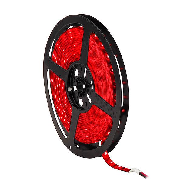 ruban led 5m 24w rouge 12v ip65. Black Bedroom Furniture Sets. Home Design Ideas